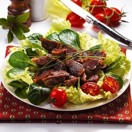 Gesiers-De-Canard-Confits-Salade