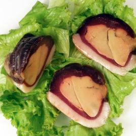 magret sec farci au foie gras